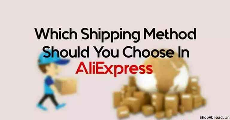 Best Shipping Method in AliExpress