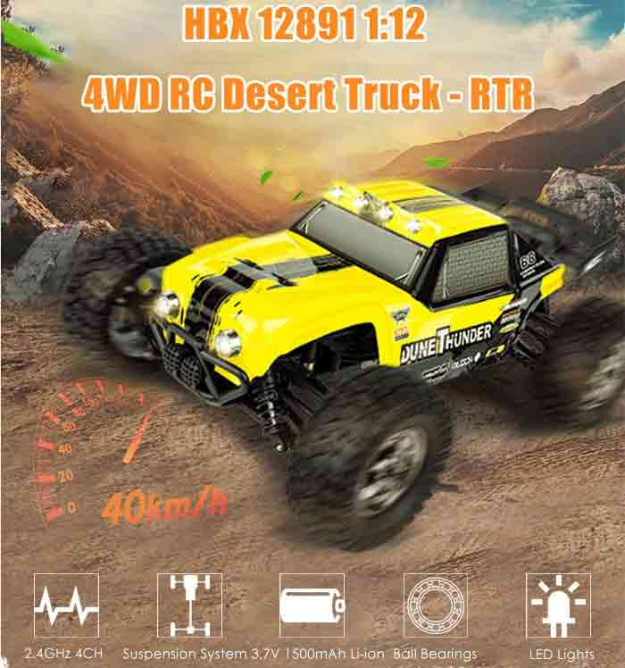 HBX 12891 1:12 4WD RC Desert Truck – RTR
