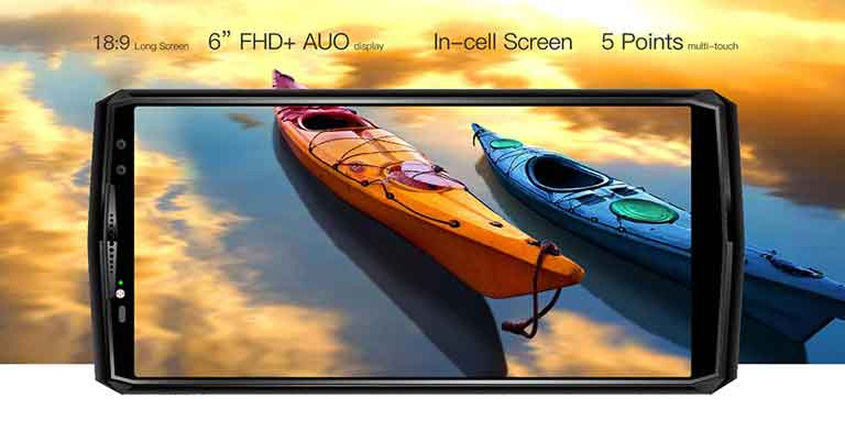 OUKITEL K10 18:9 Full HD Display