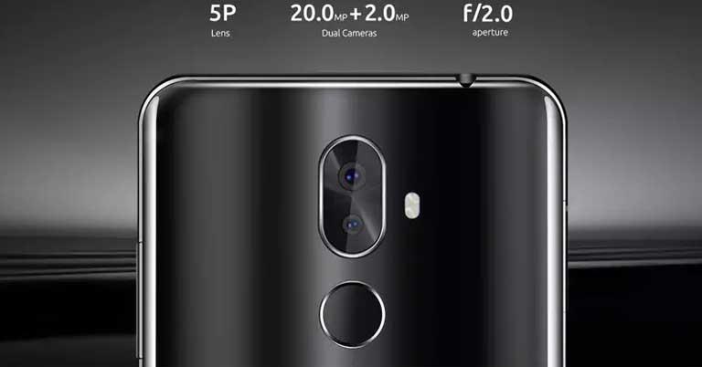CUBOT X18 Plus Camera