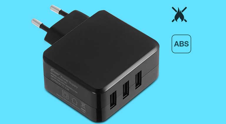 FULLPOWER 4.4A Travel Charger