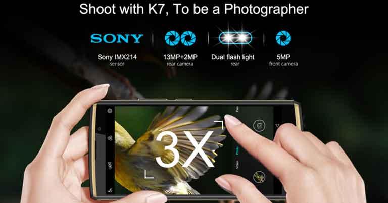 OUKITEL K7 Camera