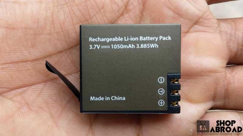 EKEN H9R Battery