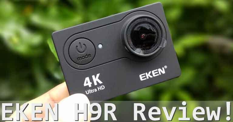 EKEN H9R Unboxing & Full Review