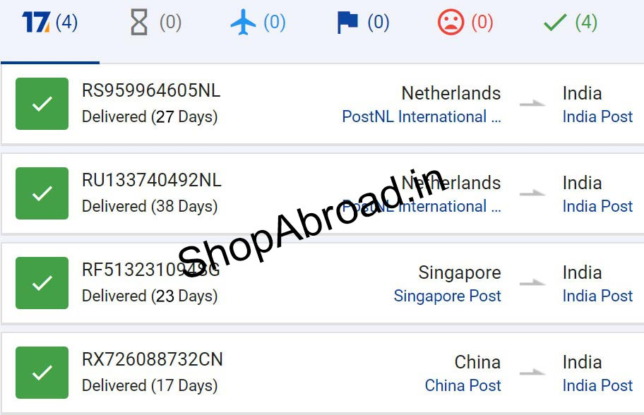 GearBest Registered Air Mail
