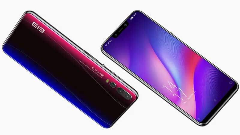 Elephone A5 Display & Design