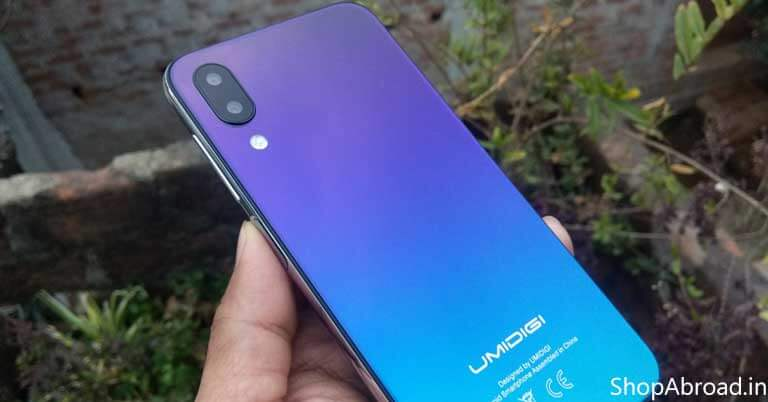 UMIDIGI ONE Design