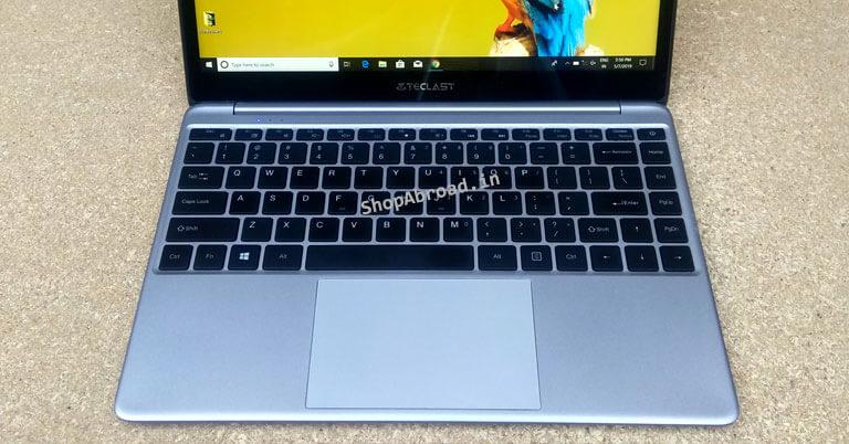 Teclast F7 Plus Keyboard and Trackpad