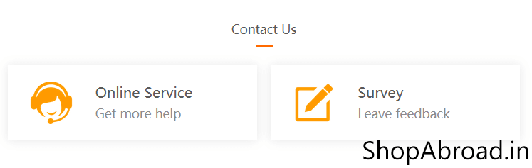 AliExpress Buyer Service Page