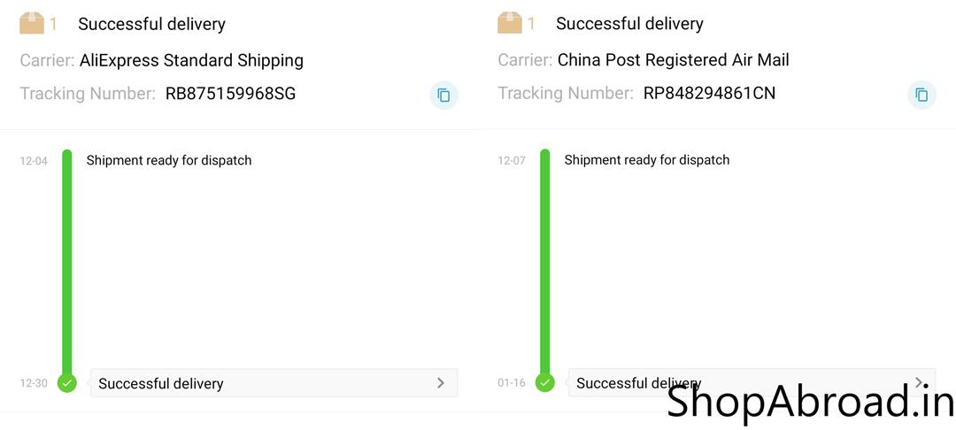 AliExpress Standard Shipping Vs China Post